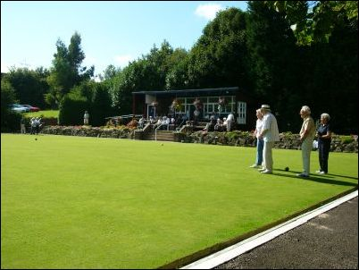 Crown green bowling green maintenance