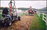 Windsor racecourse aeration