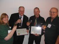Winners with Linda and David Green