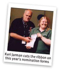 Keri Jarman with Lynda Green of Terrain Aeration