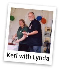 Keri with lynda